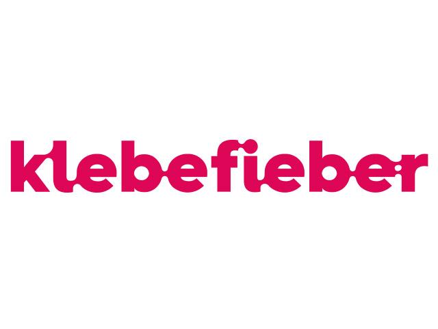 Klebefieber Logo