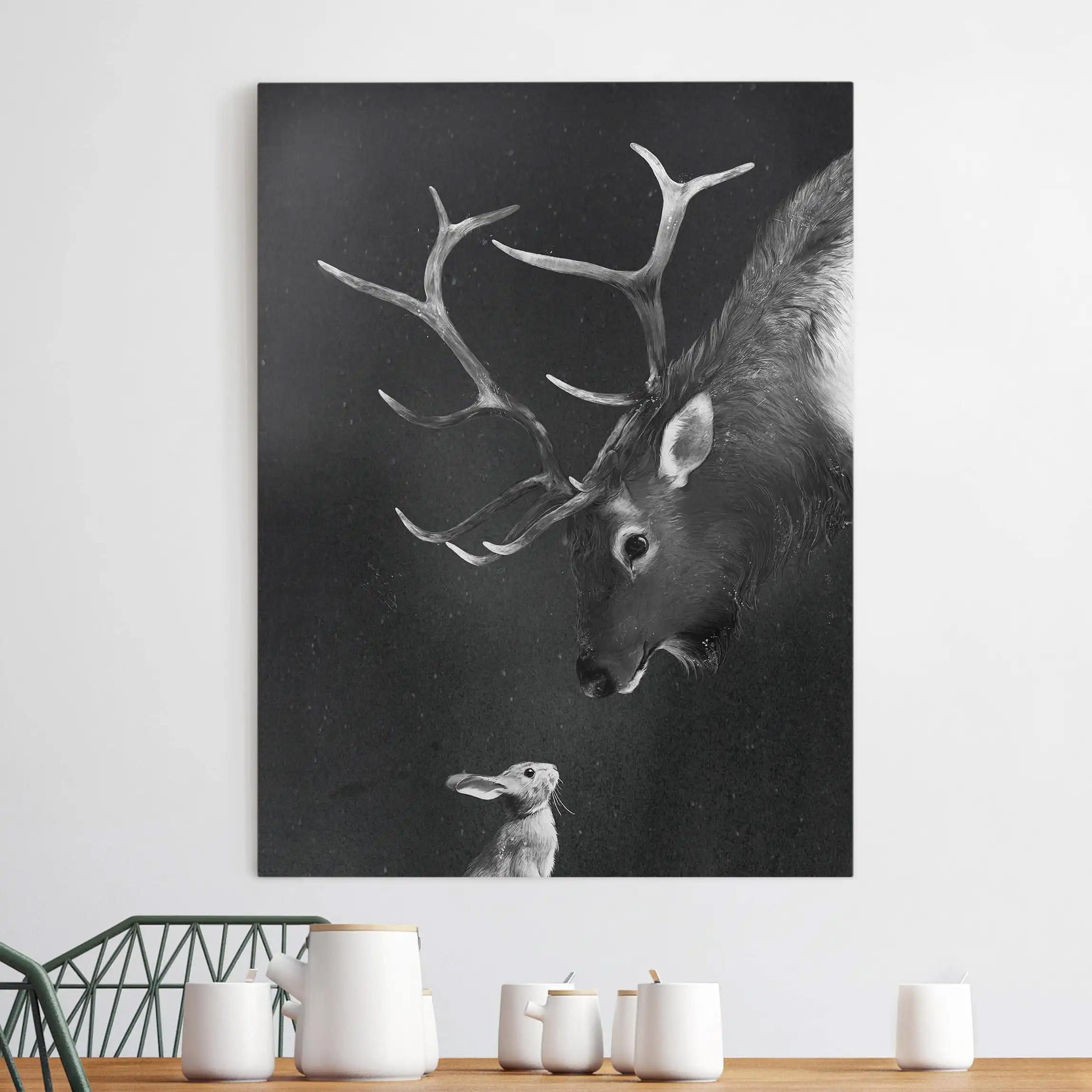 Leinwandbild Tiere